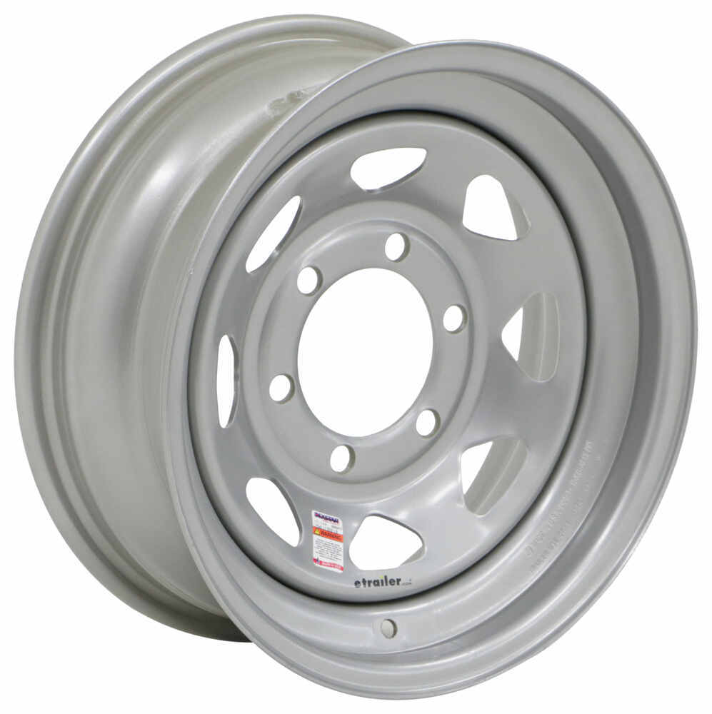 Dexstar 6 on 5-1/2 Inch Trailer Tires and Wheels - AM20535