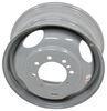 "Steel Dual Wheel - 16-1/2"" x 6-3/4"" Rim - 8 on 6-1/2 - 4.88"" Pilot - Gray 8 on 6-1/2 Inch AM20714"