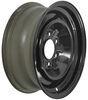 "Dexstar Conventional Steel Wheel - 16"" x 6"" Rim - 6 on 5-1/2 - Black Powder Coat Steel Wheels - Powder Coat AM20758"