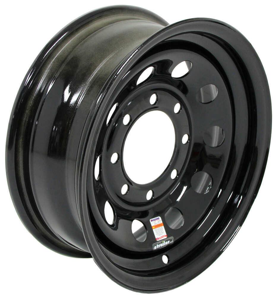 Trailer Tires and Wheels AM20761B - Steel Wheels - Powder Coat - Dexstar