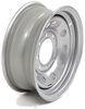 dexstar trailer tires and wheels wheel only steel mini mod - 16 inch x 6 rim 8 on 6-1/2 silver powder coat