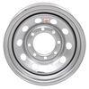 dexstar trailer tires and wheels wheel only 8 on 6-1/2 inch steel mini mod - 16 x 6 rim silver powder coat