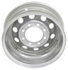dexstar trailer tires and wheels wheel only 16 inch steel mod w/+0.5 offset - x 6 rim 8 on 6-1/2 silver sparkle