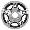 hwt trailer tires and wheels wheel only 12 inch aluminum series s5 - x 4 rim on black