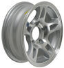 hwt trailer tires and wheels wheel only 13 inch aluminum hi-spec series s5 - x 5 rim on 4-1/2 silver