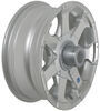 hwt trailer tires and wheels 14 inch 5 on 4-1/2 aluminum hi-spec series 06 wheel - x 5-1/2 rim silver