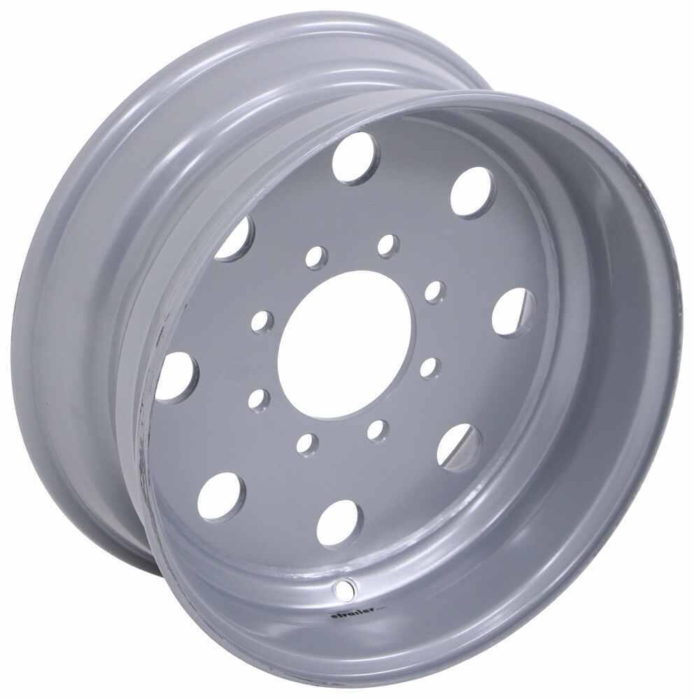 """Americana Modular Wheel w/ -0.5 Offset - 17-1/2"""" x 6-3/4"""" Rim - 8 on 6-1/2 - Silver 17-1/2 Inch AM22461"""