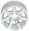 "Aluminum Sendel Series T02 Machined Trailer Wheel - 15"" x 6"" Rim - 5 on 4-1/2 5 on 4-1/2 Inch AM22653"