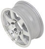 "Aluminum Sendel Series T02 Machined Trailer Wheel - 15"" x 6"" Rim - 6 on 5-1/2 Best Rust Resistance AM22654"