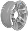 hwt trailer tires and wheels 16 inch 8 on 6-1/2 aluminum split spoke wheel - x rim