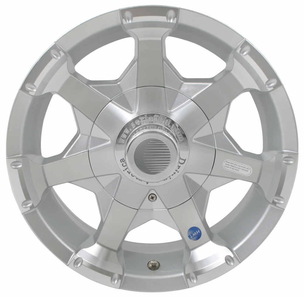 "Aluminum Hi-Spec Series 06 Trailer Wheel - 16"" x 7"" Rim - 8 on 6-1/2 - Silver 16 Inch AM22699"
