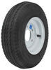 kenda trailer tires and wheels 8 inch 5 on 4-1/2 4.80/4.00-8 bias tire with white wheel - load range b