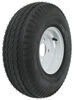 kenda trailer tires and wheels 8 inch 4 on 5.70-8 bias tire with white wheel - load range b