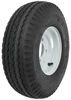 kenda trailer tires and wheels 8 inch 4 on 5.70-8 bias tire with white wheel - load range c