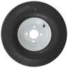 kenda trailer tires and wheels tire with wheel 8 inch 5.70-8 bias white - 4 on load range c