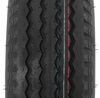 "Kenda 5.70-8 Bias Trailer Tire with 8"" White Wheel - 4 on 4 - Load Range C Bias Ply Tire AM30120"