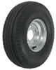 kenda trailer tires and wheels 8 inch 5 on 4-1/2 5.70-8 bias tire with galvanized wheel - load range d