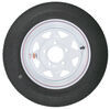 "Kenda 4.80-12 Bias Trailer Tire with 12"" White Wheel - 5 on 4-1/2 - Load Range B 12 Inch AM30580"