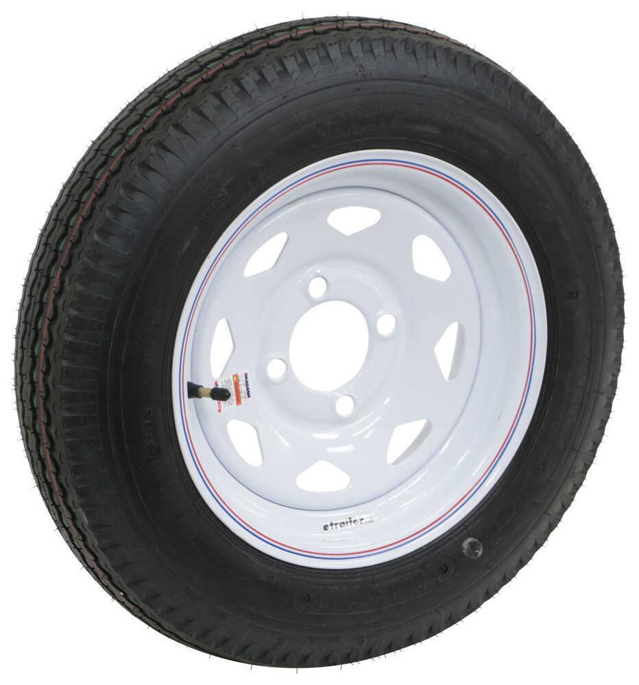 "Americana 30670 Loadstar 4.80-12 Bias Trailer Tire w// 12/"" Galvanized Wheel"
