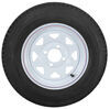 kenda trailer tires and wheels tire with wheel 12 inch 5.30-12 bias white - 4 on load range b