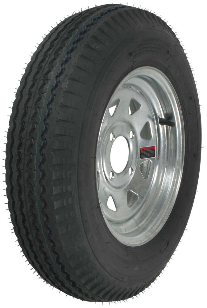 AM30710 - Steel Wheels - Galvanized,Boat Trailer Wheels Kenda Trailer Tires and Wheels