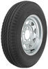 kenda trailer tires and wheels 12 inch 5 on 4-1/2 5.30-12 bias tire with galvanized wheel - load range b