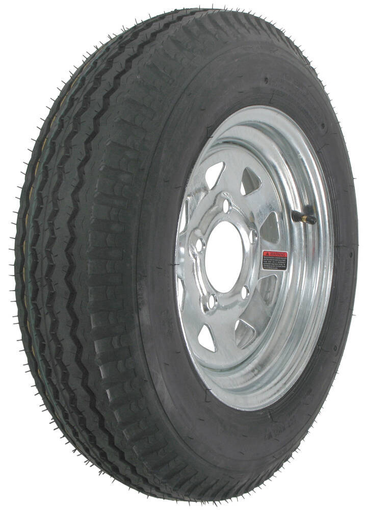 Trailer Tires and Wheels AM30861 - 5 on 4-1/2 Inch - Kenda