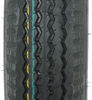 "Kenda 5.30-12 Bias Trailer Tire with 12"" Galvanized Wheel - 5 on 4-1/2 - Load Range D 5.30-12 AM30861"