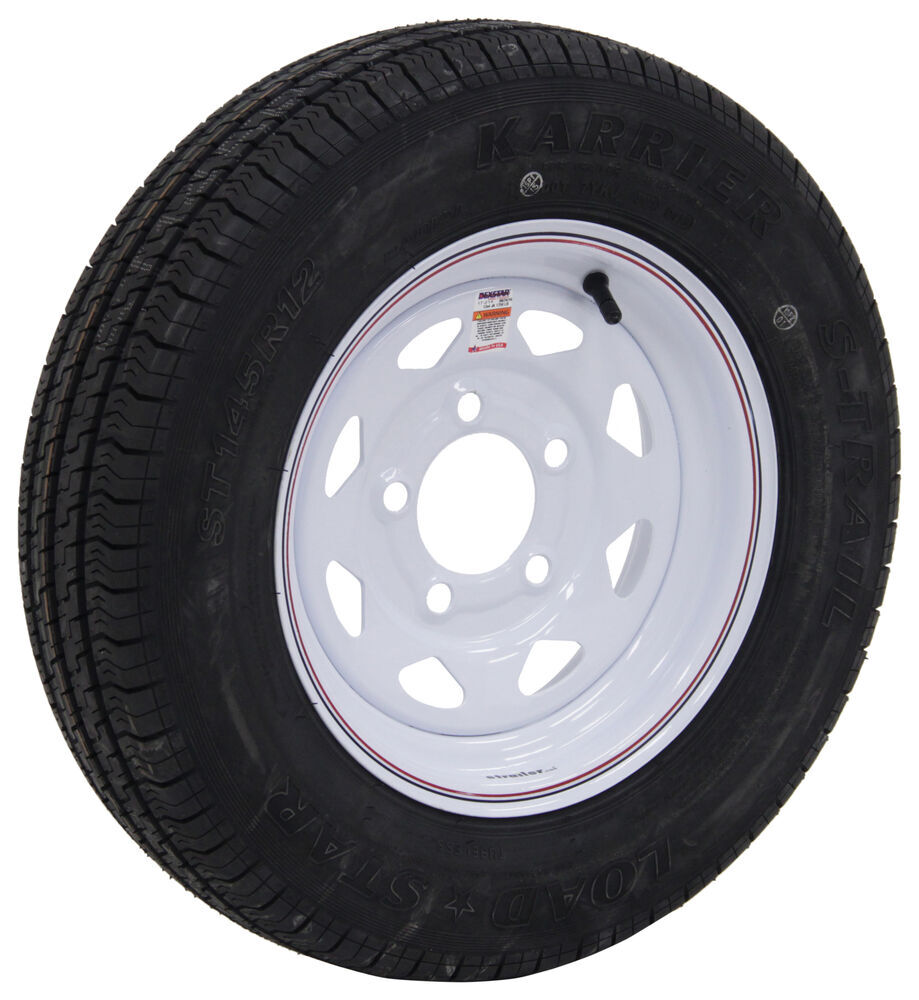 AM31199DX - 5 on 4-1/2 Inch Kenda Tire with Wheel