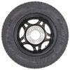 """Kenda ST145R12 Radial Trailer Tire w/12"""" Aluminum HWT S5 Black Wheel - 5 on 4-1/2 - LR D 5 on 4-1/2 Inch AM31206HWTB"""