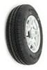 kenda trailer tires and wheels tire with wheel 12 inch kr25 radial aluminum hwt - 4 on load range d