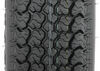 "Loadstar ST175/80D13 Bias Trailer Tire with 13"" White Wheel - 5 on 4-1/2 - Load Range D Load Range D AM31233"
