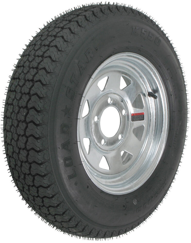 AM31242 - 5 on 4-1/2 Inch Kenda Trailer Tires and Wheels