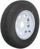 """Karrier ST175/80R13 Radial Trailer Tire with 13"""" White Wheel - 5 on 4-1/2 - Load Range D 5 on 4-1/2 Inch AM31985"""