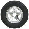 "Karrier ST175/80R13 Radial Trailer Tire with 13"" Aluminum Wheel - 5 on 4-1/2 - Load Range D 175/80-13 AM31998"
