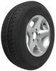 kenda trailer tires and wheels 14 inch 5 on 4-1/2 karrier st205/75r14 radial tire with aluminum wheel - load range c