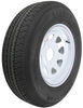 kenda trailer tires and wheels 14 inch 5 on 4-1/2 karrier st205/75r14 radial tire with white wheel - load range c