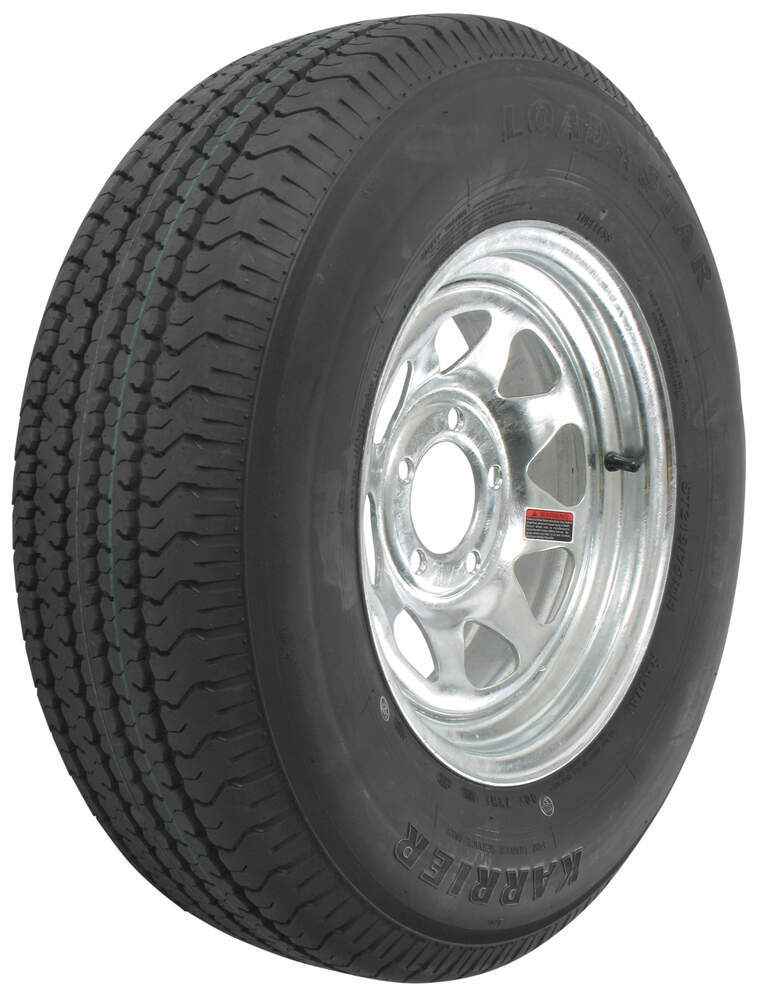 Trailer Tires and Wheels AM32182 - Radial Tire - Kenda
