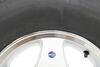 "Karrier ST215/75R14 Radial Trailer Tire with 14"" Aluminum Wheel - 5 on 4-1/2 - Load Range C Best Rust Resistance AM32195"