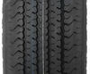 """Karrier ST225/75R15 Radial Trailer Tire with 15"""" White Wheel - 6 on 5-1/2 - Load Range D 15 Inch AM32664"""
