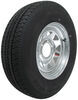 kenda trailer tires and wheels 15 inch 6 on 5-1/2 karrier st225/75r15 radial tire with galvanized wheel - load range d