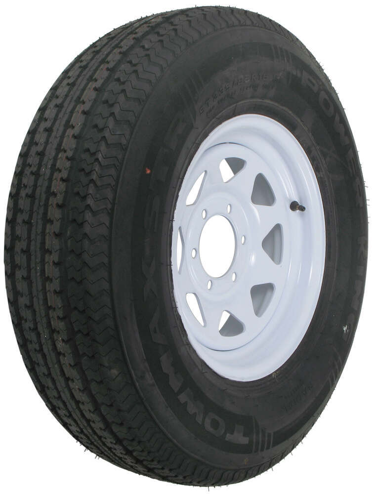 AM32764 - 6 on 5-1/2 Inch Kenda Trailer Tires and Wheels