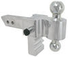 Trailer Hitch Ball Mount AM3400 - Aluminum Shank - Silver - Andersen