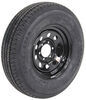 kenda trailer tires and wheels tire with wheel 16 inch karrier st235/80r16 radial black mod - 6 on 5-1/2 lr e