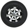 "Kenda ST235/80R16 Radial Trailer Tire w/ 16"" HWT Aluminum Wheel 6 on 5-1/2 - LR E - Black 16 Inch AM34969B"