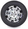 "Kenda Karrier ST205/75R15 Radial Trailer Tire w/ 15"" Aluminum Wheel - 5 on 4-1/2 - LR C - Black Load Range C AM39046"