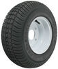 kenda trailer tires and wheels 8 inch 4 on 165/65-8 bias tire with white wheel - load range c