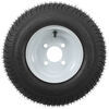 kenda trailer tires and wheels tire with wheel 8 inch 165/65-8 bias white - 4 on load range c