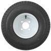 "Kenda 215/60-8 Bias Trailer Tire with 8"" White Wheel - 4 on 4 - Load Range C Steel Wheels - Powder Coat AM3H290"