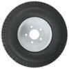 "Kenda 215/60-8 Bias Trailer Tire with 8"" White Wheel - 5 on 4-1/2 - Load Range D Bias Ply Tire AM3H323"